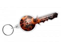 Брелок «Ключ», прозрачный