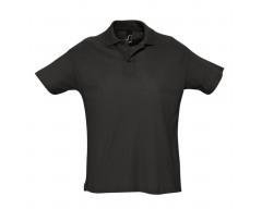 Рубашка поло мужская SUMMER 170 черная