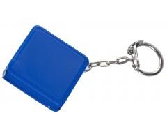 Брелок с рулеткой 1 м, синий