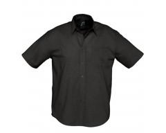 Рубашка мужская с коротким рукавом BRISBANE черная