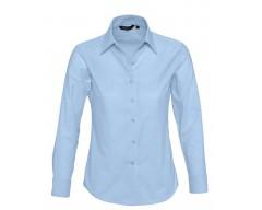 Рубашка женская с длинным рукавом EMBASSY голубая