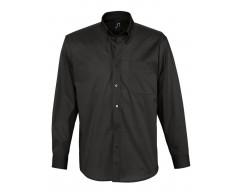 Рубашка мужская с длинным рукавом BEL AIR черная