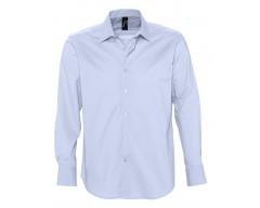 Рубашка мужская с длинным рукавом BRIGHTON голубая