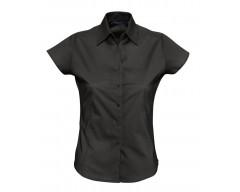 Рубашка женская с коротким рукавом EXCESS черная