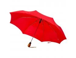 Зонт складной, красный