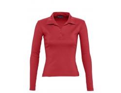 Рубашка поло женская PULP 220 красная