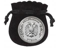 Сувенир «Счастливый рубль» в упаковке