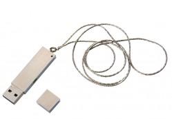 Флешка «Слиток», серебристая, на 8 Гб