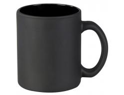 Кружка матовая, черная