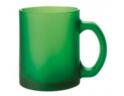 Кружка матовая, зеленая