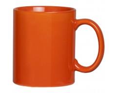 Кружка, оранжевая