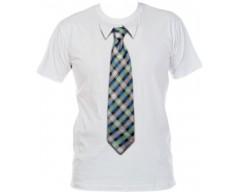 Футболка с 3D галстуком SQUARE 49