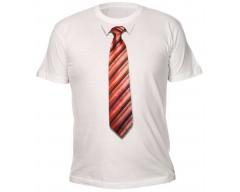 Футболка с 3D галстуком BAND 50