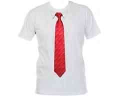 Футболка с 3D галстуком WAVE 50