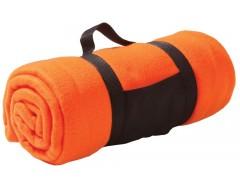 Плед Soft, оранжевый