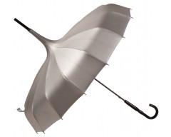 Зонт «Пагода», серебристый