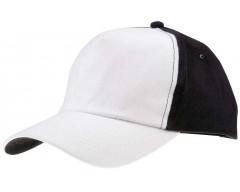 Бейсболка UNIT EVERY, белая с черным