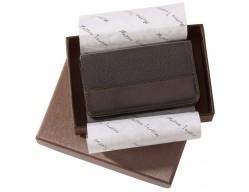 Футляр для визиток Alvaro, коричневый