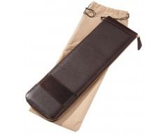 Футляр для галстуков Alvaro, коричневый