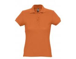 Рубашка поло женская PASSION 170 оранжевая