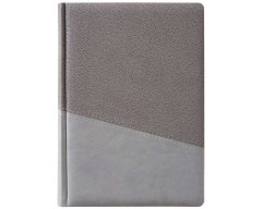 Ежедневник DUMBO BRAND, недатированный, серый