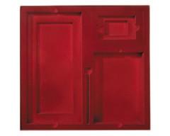 Коробка на 3 предмета, бордовая