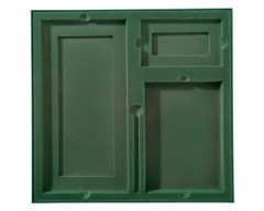 Коробка на 3 предмета, зеленая
