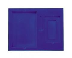Коробка на 2 предмета, синяя