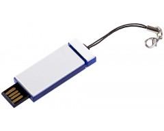 Флешка Slide, синяя, 4 Гб
