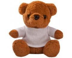 """Игрушка """"Медвежонок Умка в футболке"""", коричневый"""