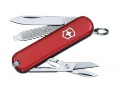 Нож-брелок CLASSIC 58, красный