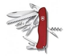 Солдатский нож с фиксатором лезвия HERCULES, красный