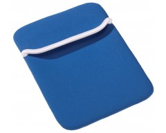 Чехол для iPad, ярко-синий с белым