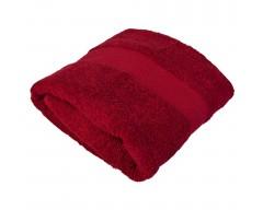 Полотенце банное SMALL, бордовое