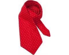 Вязаный галстук LUCKY, красный