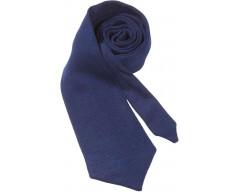 Вязаный галстук DEEP, темно-синий