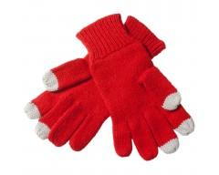 Перчатки для iPhone, красные