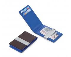 Зажим для денег BLUE CANYON, коричневый с синим
