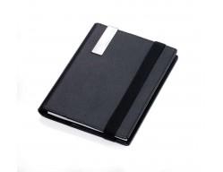 Папка-блокнот для записей A5 MIDNIGHT, черная