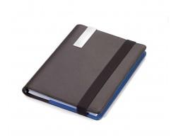 Папка-блокнот для записей A5 BLUE CANYON, коричневый с синим