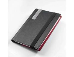 Папка-блокнот для записей A5 RED PEPPER, черный с красным