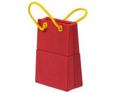 Флешка «Пакет», красный, 4 Гб