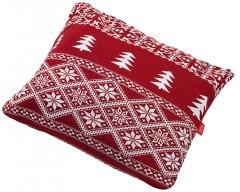 Подушка «Елочка», красная