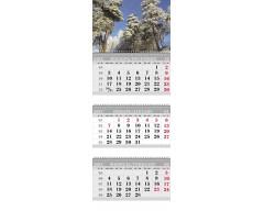 Календарь ТРИО MINI «Сосны»
