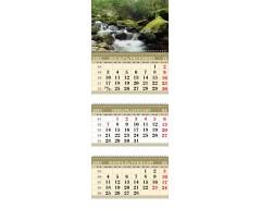 Календарь ТРИО MINI «Водопад»