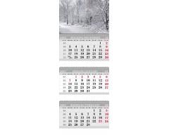 Календарь ТРИО MINI «Зимний лес»