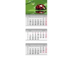 Календарь ТРИО MINI «Божья коровка»
