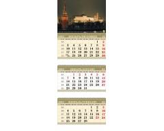 Календарь ТРИО MINI «Вечерний Кремль»