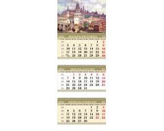 Календарь ТРИО MINI «Васнецов. Рассвет Кремля»