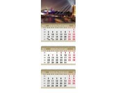 Календарь ТРИО MINI «Вечерняя Москва»